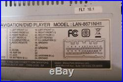 06-11 Hyundai Azera Veracruz Santa Fe GPS XM Radio CD MP3 Player Screen OEM LG