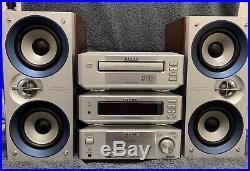 AIWA XR-M99 Mini Bookshelf Stereo System Manufactured 1999 Works Great