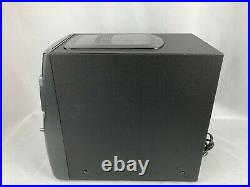 Aiwa LCX-800M Shelf Stereo System 7 Disc CD Changer Tuner Black Silver w Remote