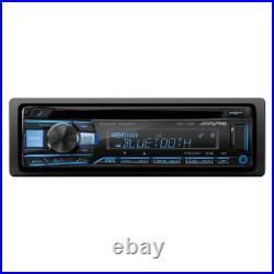 Alpine CDE-172BT Single DIN Bluetooth AM/FM/CD Tuner Car Stereo Receiver