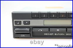 Becker Europa 2000 BE1100 Kassettenradio Mercedes W126 Radio S-Klasse Autoradio