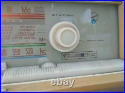 Blaupunkt Ideal Florenz Stereo Radio 21353 Short Wave 1962 Vintage AS IS