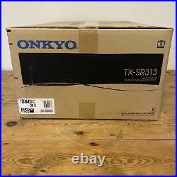Brand New Onkyo AV Receiver Amplifier Tuner Stereo Original Box TX-SR313