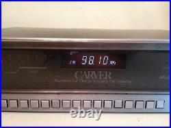 Carver TX-11 Quartz Synthesized Stereo Tuner