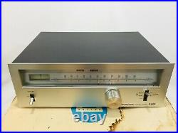 Clean Vintage Pioneer TX-6500 II Stereo AM\FM Tuner with Manual & Box