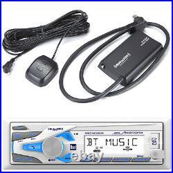 Dual AM/FM Radio MP3/USB/AUX Car Stereo Receiver SiriusXM Ready, XM Tuner Kit