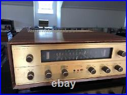 Fisher 202-R Telefunken Fisher Tube Stereo AMFM Tuner Receiver Perfect Condition