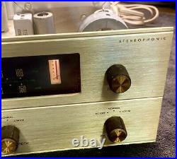 Fisher R-200 Stereo AM / FM Multiplex Tuner / All Tube / Very Good Condition