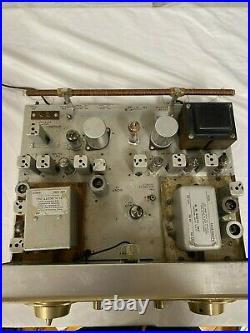 H. H. Scott 330-D Stereo Tube AM-FM Tube Tuner