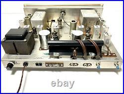 H. H. Scott Stereomaster 330-D Stereo AM-FM Stereo Tube Tuner SERVICED NEAR MINT
