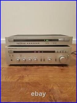 Harman Kardon PM650 Stereo Integrated Amplifier & TU 615 Tuner AM/FM Working