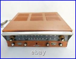 Heathkit AJ-41 Tube Stereo AM / FM Tube Tuner working condition