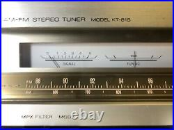 Kenwood AM/FM Stereo Tuner Model KT-815