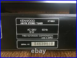 Kenwood C2 Preamplifier and KT-880 AM/FM Stereo Tuner