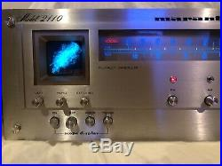 MARANTZ MODLE 2110 AM/FM STEREO TUNER WHITH SCOPE. Serviced With LEDs And More