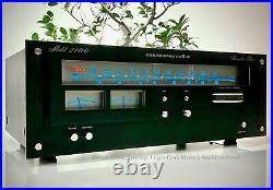 MARANTZ Model 2100 (e) Stereophonic Tuner, Original in schwarz! Ultra Rar