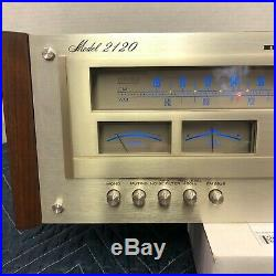 Marantz 2120 Vintage Am/fm Stereo Tuner Serviced Cleaned Tested Manual