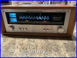 Marantz Model 125 Stereophonic AM/FM Tuner With WOOD CASE