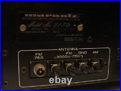 Marantz Model 2130 Stereo Analog Tuner mit kleinen Fehler