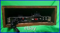McIntosh MR74 Vintage AM/FM Stereo Tuner Walnut Cabinet Panlocs