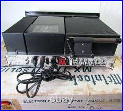 McIntosh MX-113 Stereo AM/FM Tuner Preamplifier with Original Box -Just Serviced