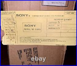 Mint In Box SONY Japan Ampli-Tuner AM/FM Stereo Receiver STR-AV560 Vintage