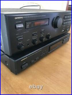 Onkyo A-RV401 Stereo Amplifier Receiver + T-403 AM/FM Synthesized Tuner L1
