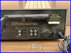PIONEER TX-8500 II Quality Vintage Stereo AM-FM Tuner