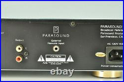 Parasound T/DQ-1600 Broadcast AM/FM Stereo Tuner