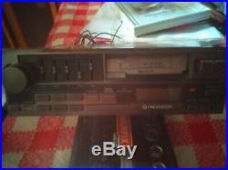 Pioneer Keh-9000a Vintage Car Stereo Am/fm Tuner Cassette