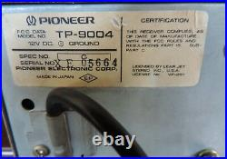 Pioneer TP-9004 Stereo Vintage 1970s 8 Track Player AM FM Tuner
