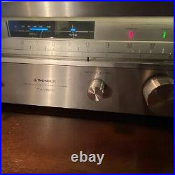 Pioneer Tx-7800 Am Fm Stereo Tuner Touch-tune Variable Out