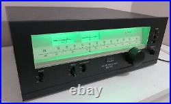 SANSUI TU-417 AM / FM STEREO TUNER WORKS PERFECT SERVICED FULLY RECAPPED + LED's
