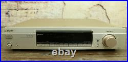 SONY AM FM Stereo Edel Tuner ST-SA5ES Esprit, RDS Radio, Champagner Gold