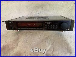 SONY ST-S730es AM FM Stereo Tuner, one of the best! Sony ES
