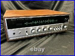 Sansui 350A Solid State AM/FM Stereo Tuner Amplifier Working Vintage / Antique