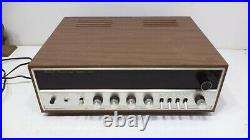 Sansui Model 350A Stereo AM/FM Tuner Amplifier Solid State Vintage WORKING