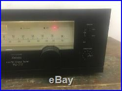Sansui TU-717 AM FM Stereo Tuner MINTY