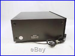 Sansui TU-717 AM/FM Stereo Tuner Works No FM Antenna Included
