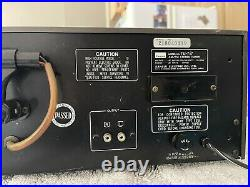 Sansui TU 717 Tu-717 Analog Tuner Am FM Stereo Rack Mount TU71