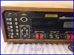 Sansui Vintage AM/FM Stereo Tuner Amplifier 2000A Wood Case Solid State