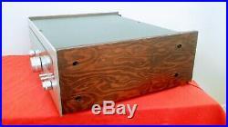 Serviced KENWOOD Higher Series KT-7300 AM/FM STEREO Tuner-Aligned-Custom Wood
