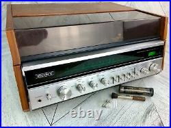 Sony HP-610A Turntable Record Player Stereo Tuner AM/FM Solid State Vintage