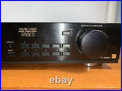 Sony ST-S550ES AM/FM Tuner-Mono/Stereo Tuner-Sony ES-Made in Japan