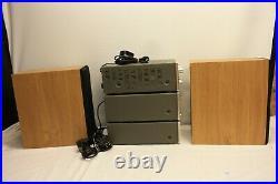 Teac A-h300 Stereo Amplifier R-h300 Cassette Deck T-h300am Fm Tuner Ls-300u
