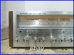 Tested Vintage Pioneer SX-950 AM/FM Stereo Receiver Tuner 85W per Channel