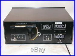 VINTAGE SANSUI AM FM STEREO TUNER TU-717 COMPONENT CLEAN WORKS with MANUAL