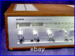 VINTAGE Working YAMAHA CR-620 Stereo AM/FM RECEIVER Natural Sound TUNER Radio