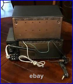 VTG. PROTON MODEL 300 AM/FM STEREO TUNER RECEIVER RADIO and External Speaker