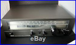 Vintage AKAI AT-2450 AM FM Stereo Tuner WORKS GREAT